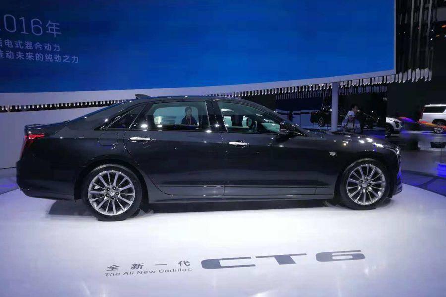 配置升级 凯迪拉克新款CT6将于明日上市