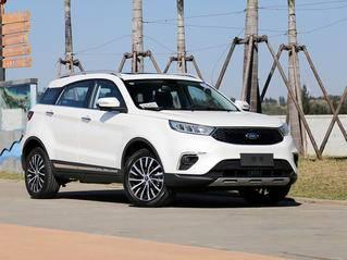 福特新SUV预售11.98万起 比翼虎大/价格便宜5万