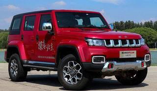 北京BJ40和荣威RX5哪个好 北京BJ40越野性能强但销量不是很好
