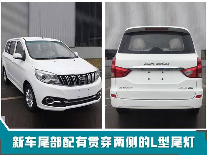 SWM斯威汽车发布3款新SUV含首款新能源车型-图3