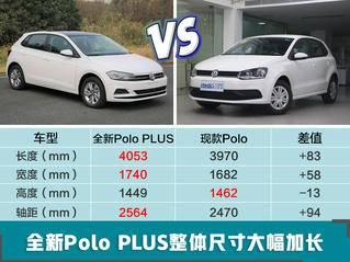 上汽大众新Polo到店实拍 尺寸加长/配全液晶仪表