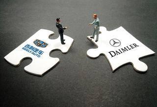 戴姆勒与吉利汽车正在商议合作电动智能汽车 【图】