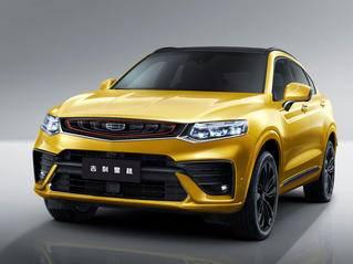 吉利星越新轿跑SUV二季度上市 动力超马自达CX-4