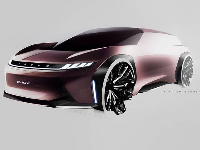 星途纯电轿跑SUV发布 前宝马3系设计师操刀完成-图1