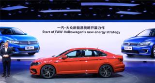 全新一代速腾Long-Wheelbase重磅亮相上海车展