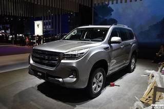 颜值更能打 全新哈弗H9于上海车展正式发布