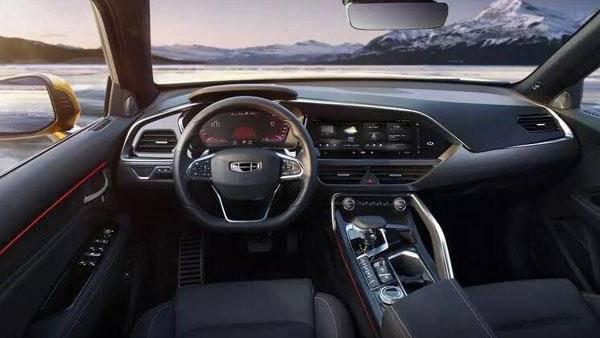 跨界高阶运动SUV吉利星越新车上市13.58万-19.58万