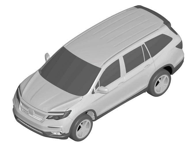 本田北美特供SUV要入华 七座布局比冠道还要大-图1