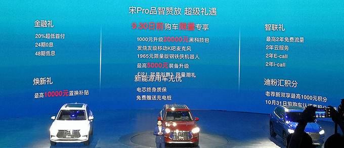 比亚迪宋Pro上市 三种动力售价X.XX-XX.XX万元-图4