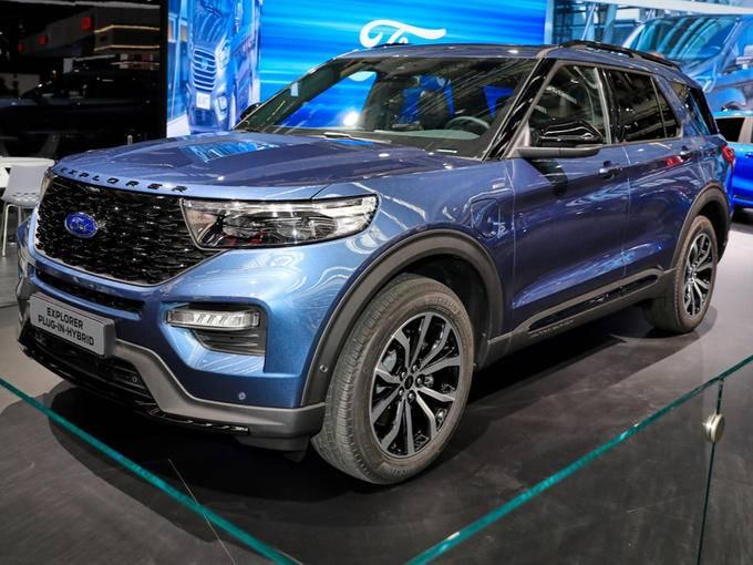 福特全新探险者插混版亮相即将入华国产开售-图1