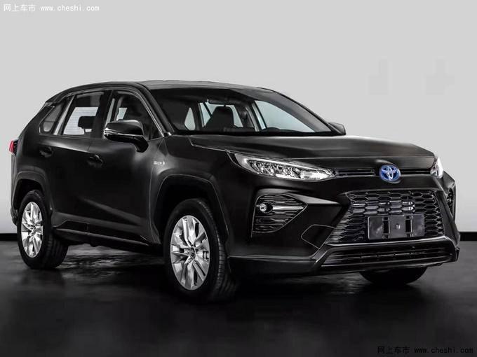 广汽丰田全新SUV威兰达实拍 下月发布搭2.5L混动-图1