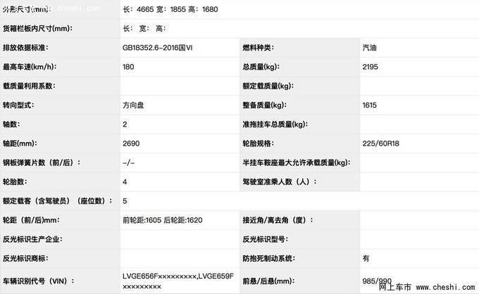 广汽丰田全新SUV威兰达实拍 下月发布搭2.5L混动-图5