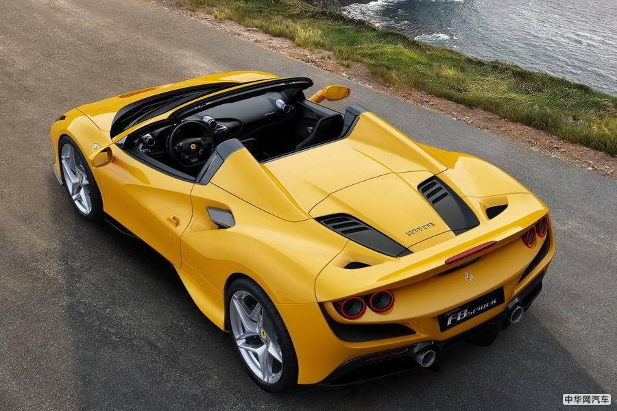 地表最强V8跑车?法拉利最速敞篷F8 Spider来了