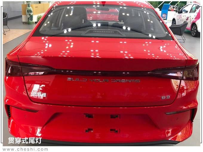 比亚迪e3到店实拍 10月24日上市或10万起售-图5