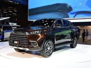 江铃域虎9将在2019广州车展正式上市