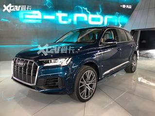 2019广州车展探馆:新款奥迪Q7实车曝光