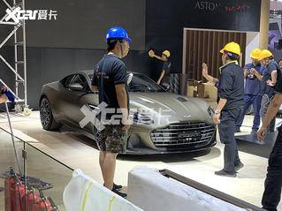广州车展探馆:阿斯顿·马丁DBS特别版