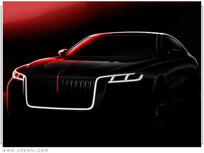 红旗全新H7实拍 新增3.0T引擎 外观酷似劳斯莱斯-图2