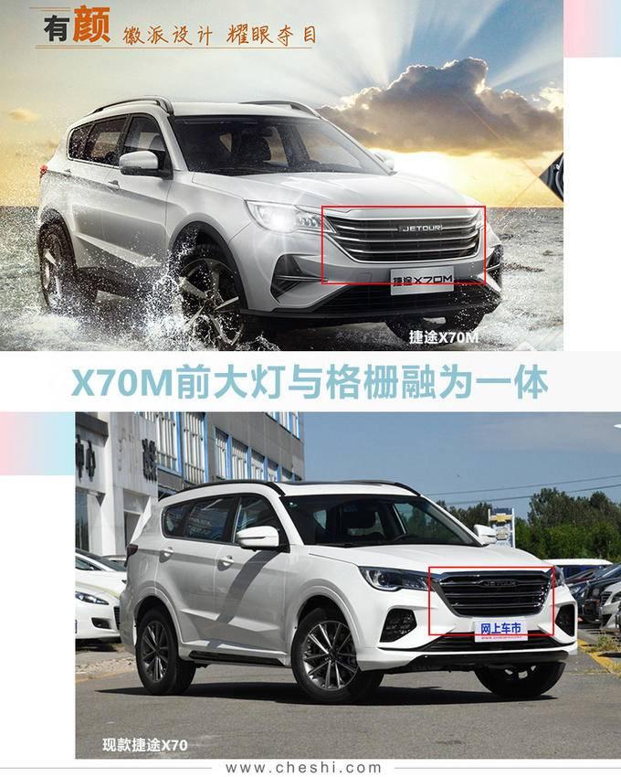 捷途X70再推入门版SUV 尺寸更大仅6.49万起售-图3