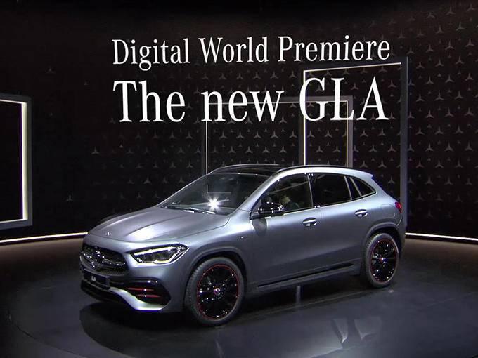造型更Nice!奔驰全新GLA亮相 你还考虑Q3/X2?