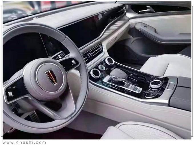 红旗H9旗舰轿车2.0T版谍照 售价预计不到30万-图6