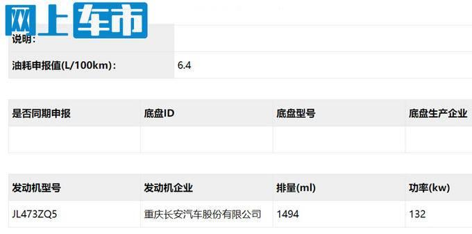 长安锐程CC推1.5T高配版 即将开卖-售价上调