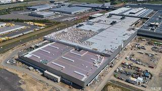 保时捷莱比锡工厂新车间完成外部施工