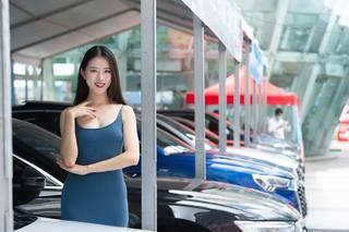 """2021深圳购物季""""一人可享团购价""""罗湖金光华车展启幕"""